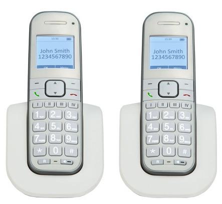 DECT duo telefoon