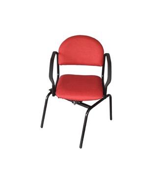 Doge Slide & Turn stoel rood