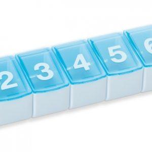Medicijncassette week (7-delig)