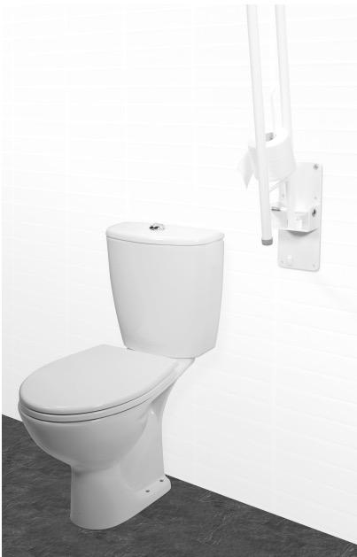 Wandbeugel Toilet Daron